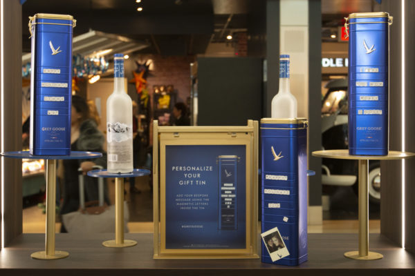 Grey Goose Takes Seasonal Flight At New York Jfk T4 photo