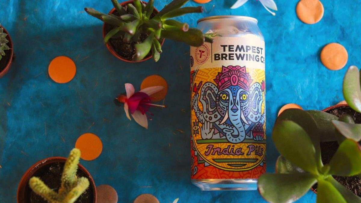 Tempest Brewing As India Pils Beer Label Gives Offence To Hindus With Lord Ganesha Image photo