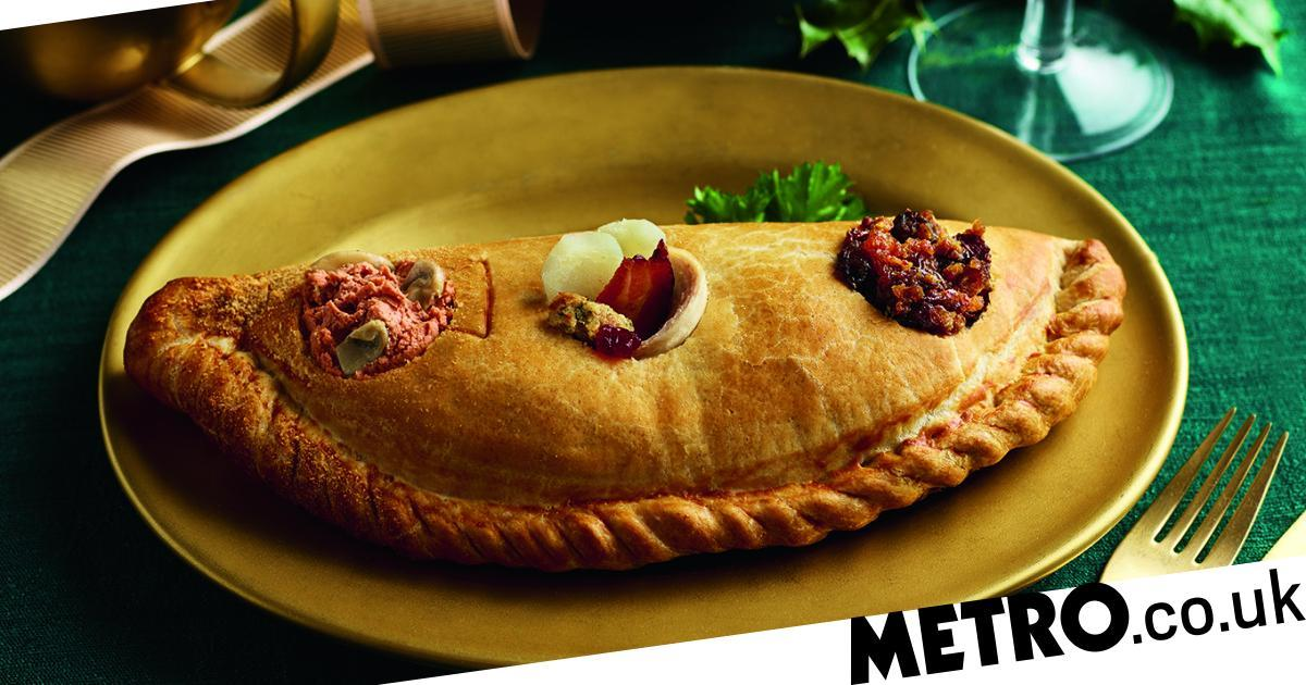 Morrisons Is Doing A Three-course Christmas Dinner In A Pasty photo