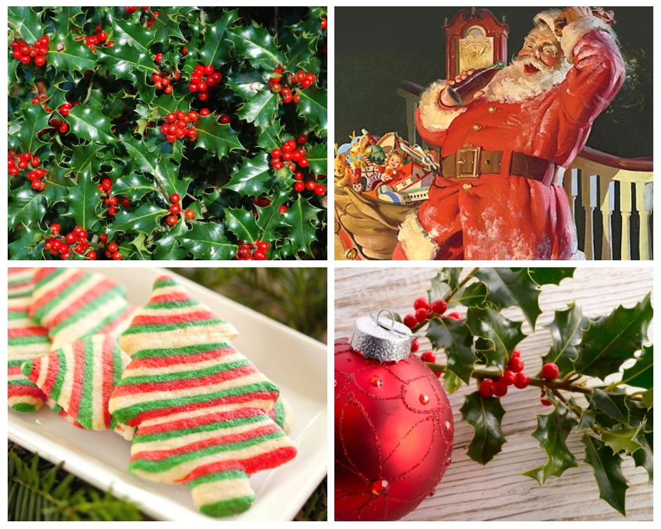 How Coca-cola And Holly Fixed Red And Green In Our Minds As The Colours Of Christmas photo