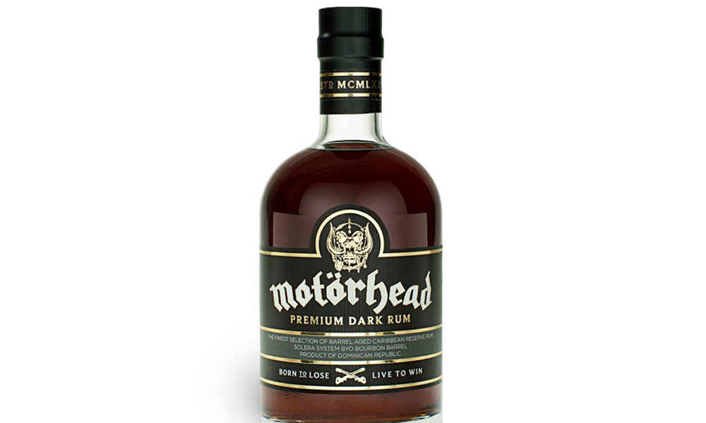 British Metal Band Motörhead Releases 8 Year Old Dominican Dark Rum photo