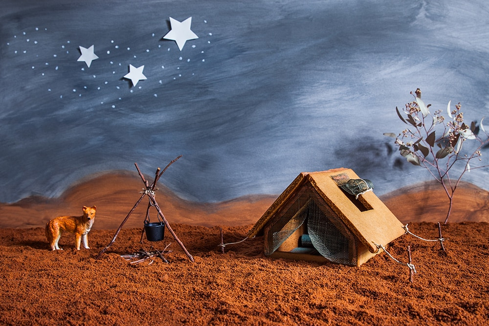 Gingerbread Outback Tent photo