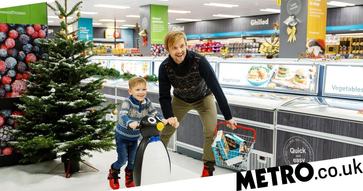 Iceland Transforms Its Store Into An Ice Skating Rink photo