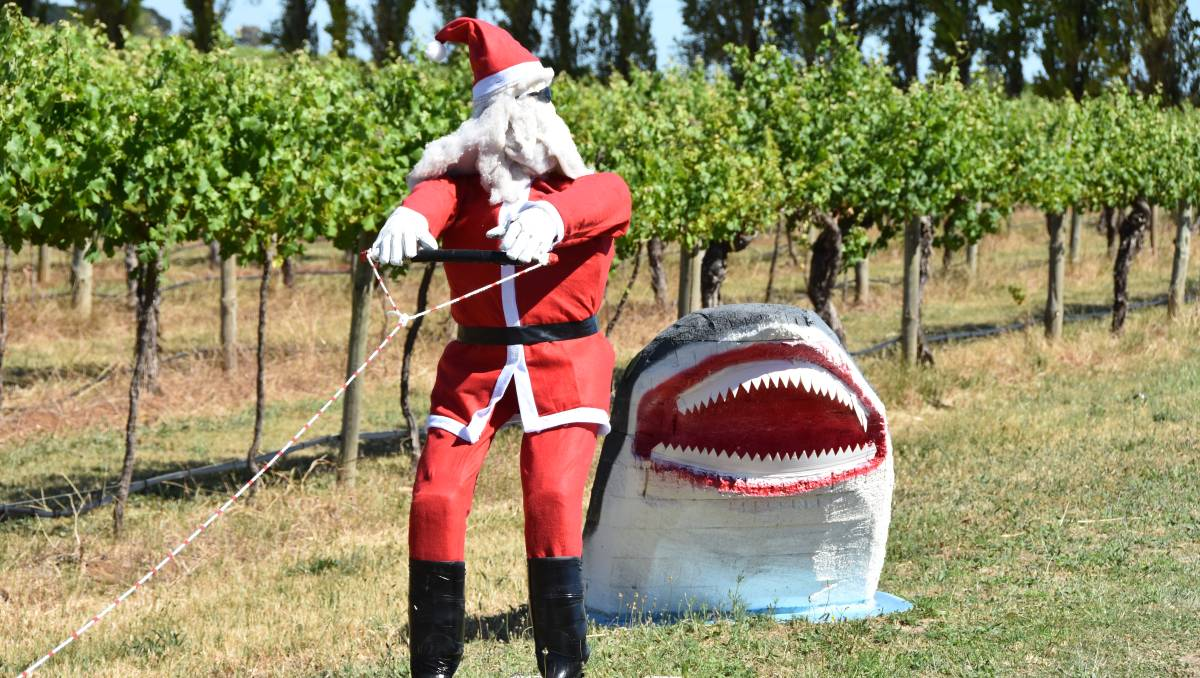 Penola Coonawarra Stuffed Santas 2018 photo