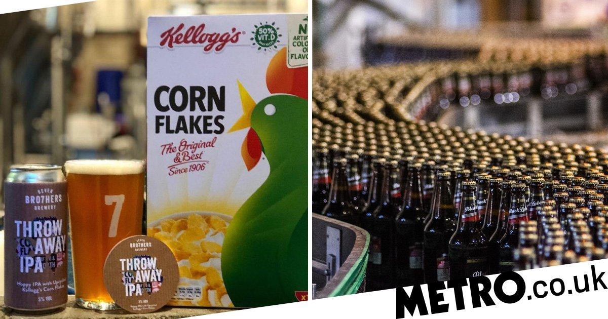Kellogg's Launches Beer Made From Leftover Corn Flakes photo