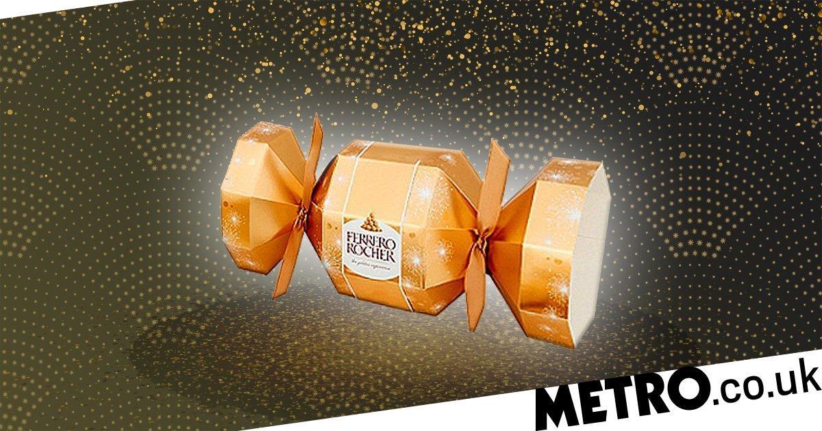 These Ferrero Rocher Christmas Crackers Look So Good photo