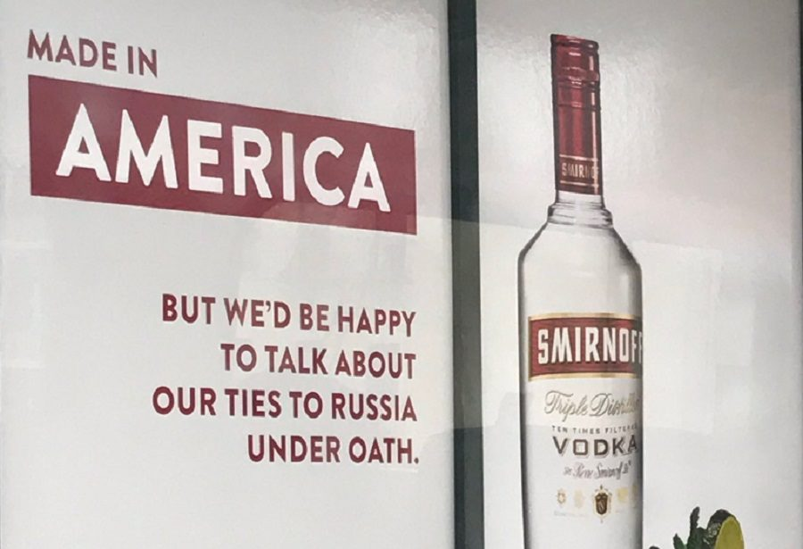 Fact Check: Did Smirnoff Troll President Trump In A Vodka Advertisement? photo