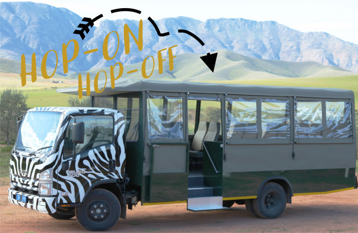 Explore the Roberton Wine Valley In A Safari Vehicle photo