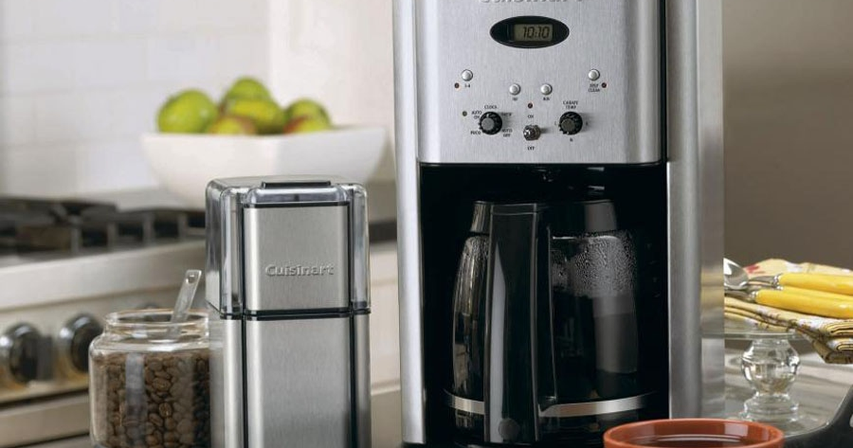 Get This Cuisinart Coffeemaker On Sale For Super Cheap: It's Just $64 At Walmart photo