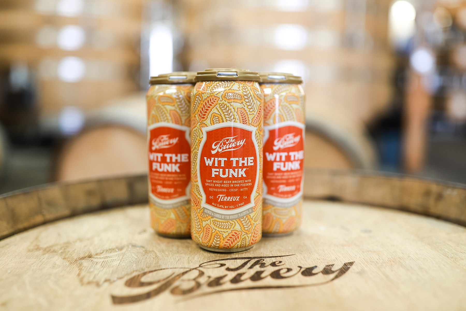 The Bruery Cans  Foeder-aged Beer From Bruery Terreux photo