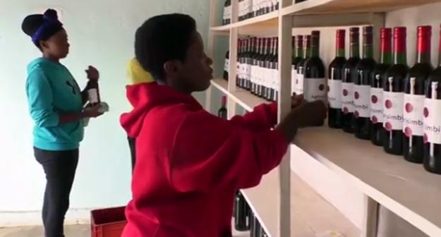 Rwandan Entrepreneur Turns Her Beetroot Into Red Wine photo