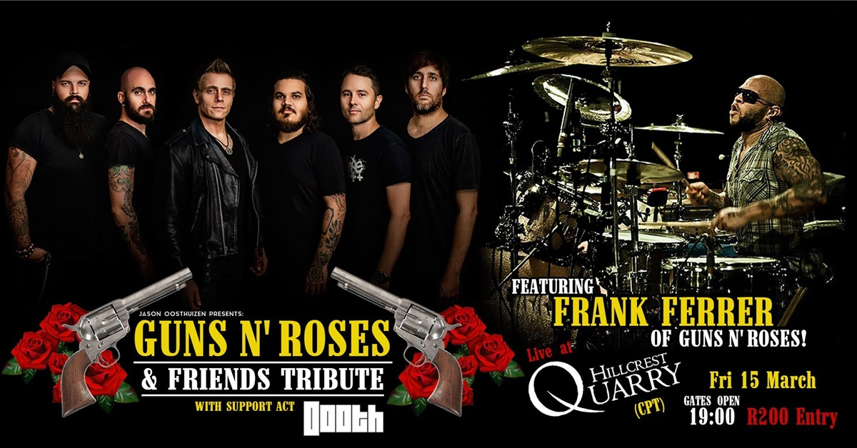 Guns N' Roses Drummer To Join Jason Oosthuizen's Tribute Show In Cape Town photo