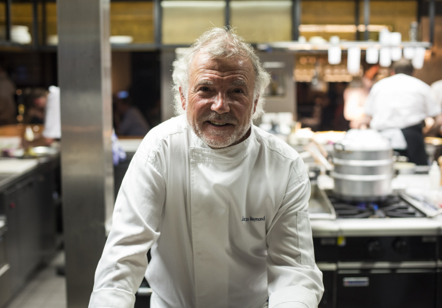 Jacques Reymond Is Ready To Serve photo