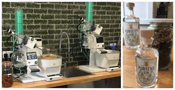 Porter's Gin Opens Doors To Micro Distillery photo