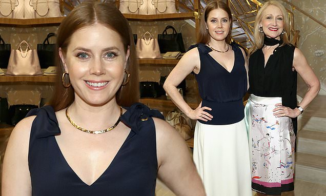 Amy Adams And Patricia Clarkson Reunite For Tory Burch Lunch photo