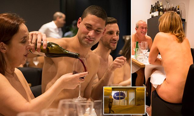 Paris's first NAKED restaurant closes due to lack of customers photo