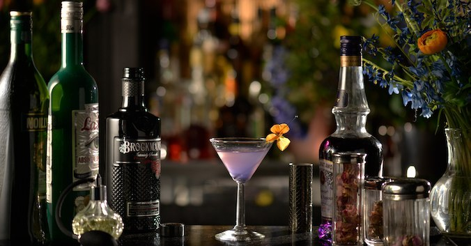 Brockmans Gin Serves Up Purple Passion Cocktails For Valentine's Day photo