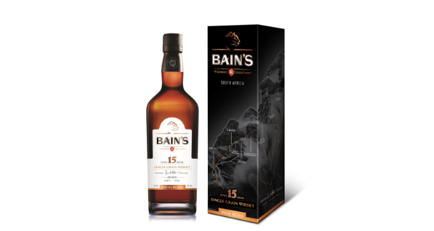 Limited Edition Bain's Cape Mountain Whisky At Duty Free Shops photo