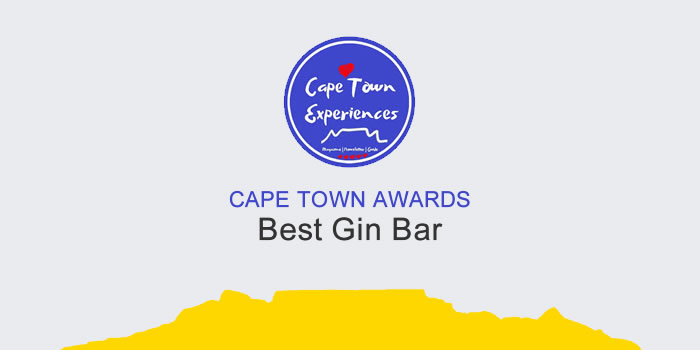 Vote For Your Favourite Cape Town Gin Bar photo