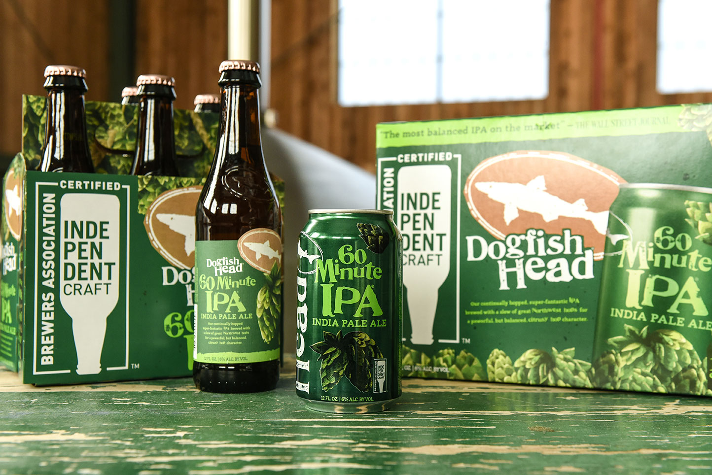 Dogfish Head Reveals New 60 Minute Packaging photo