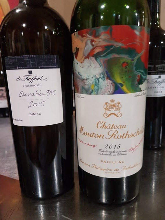 Stellenbosch Versus Bordeaux 2015 Tasting photo