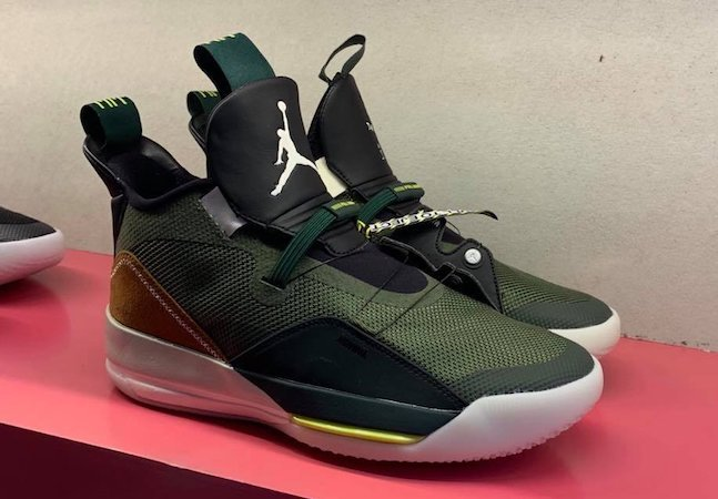 Here?s Your First Look At Travis Scott?s Air Jordan 33s photo