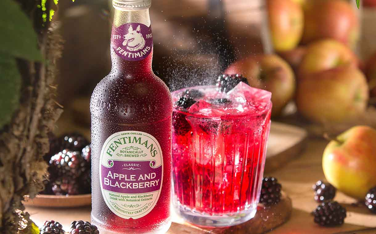 Fentimans Releases Apple And Blackberry Soft Drink In The Uk photo