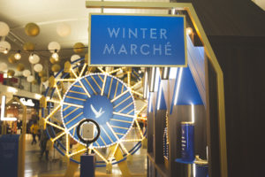 Consumers Flock To Grey Goose Jfk Terminal 4 Christmas Campaign photo