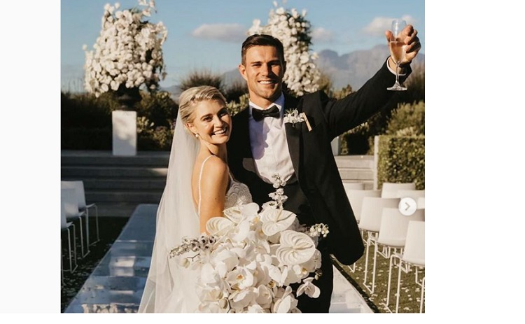 Pics: Jj Engelbrecht's Magical Wedding Day photo