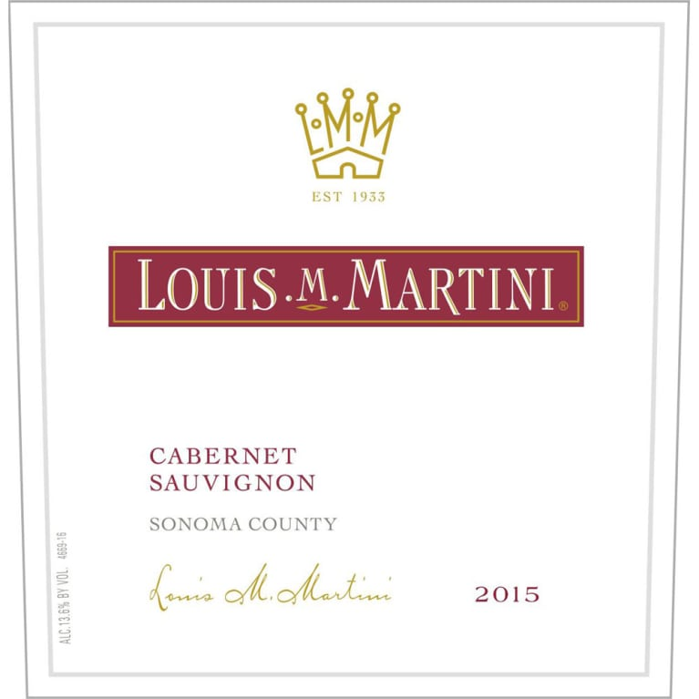 Louis M. Martini Cabernet Sauvignon photo