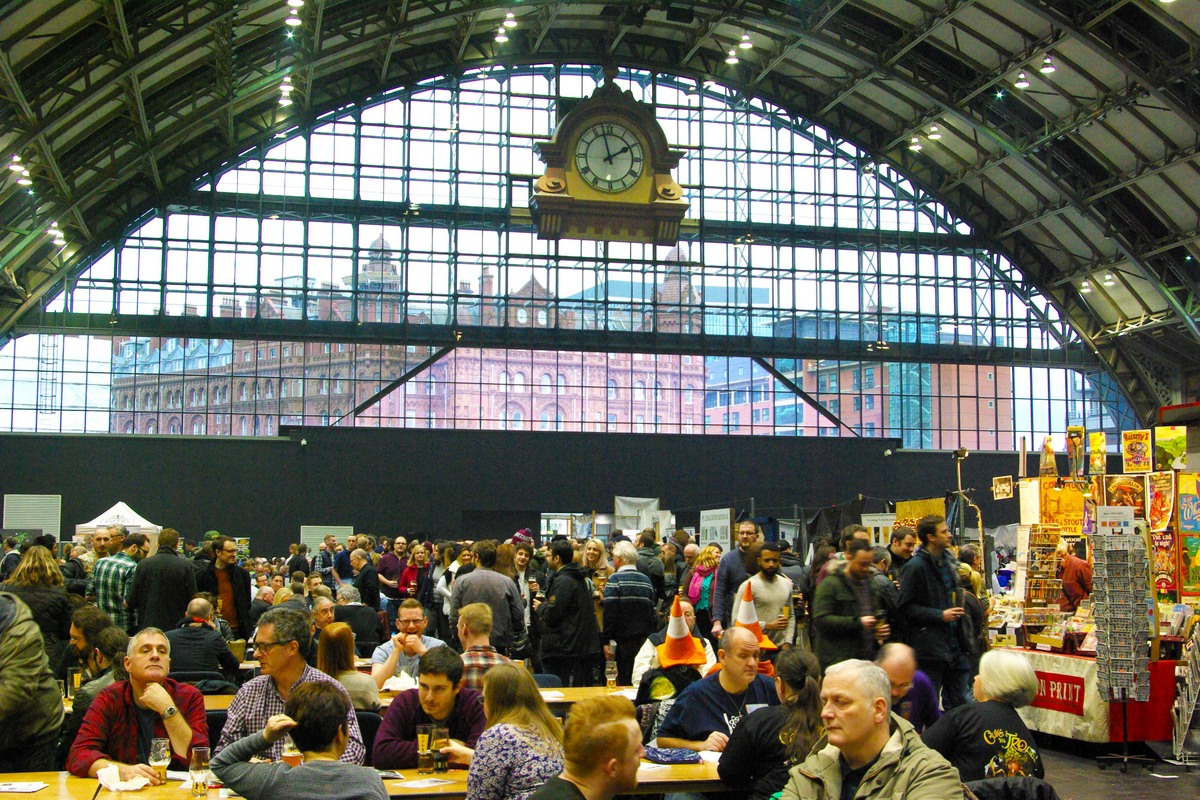 Camra Education Space At Manchester Beer Festival ? Beer Today photo