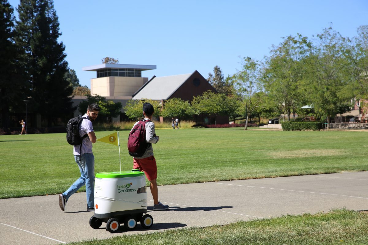 Pepsi?s Autonomous Snackbots Deliver Chips And Beverages To Peckish College Students photo