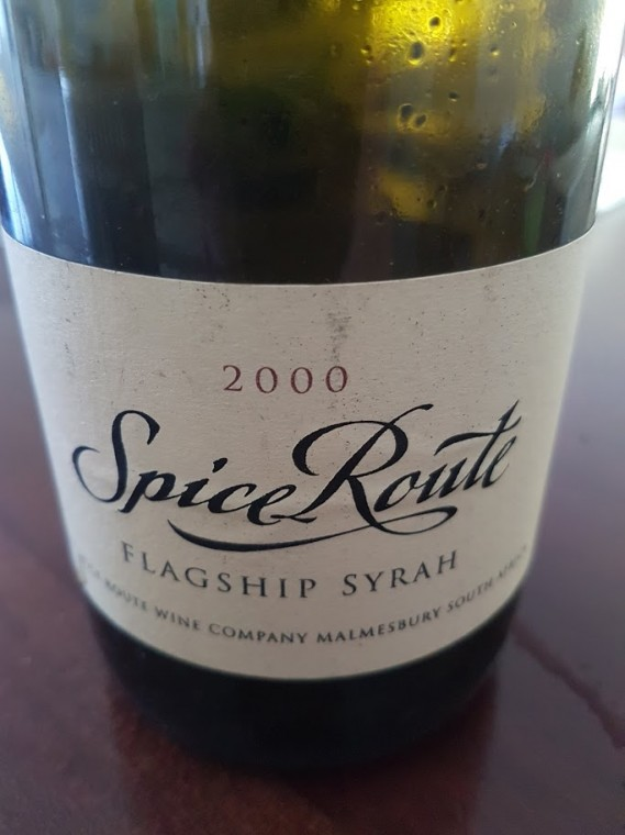 Spice Route Flagship Syrah 2000 photo