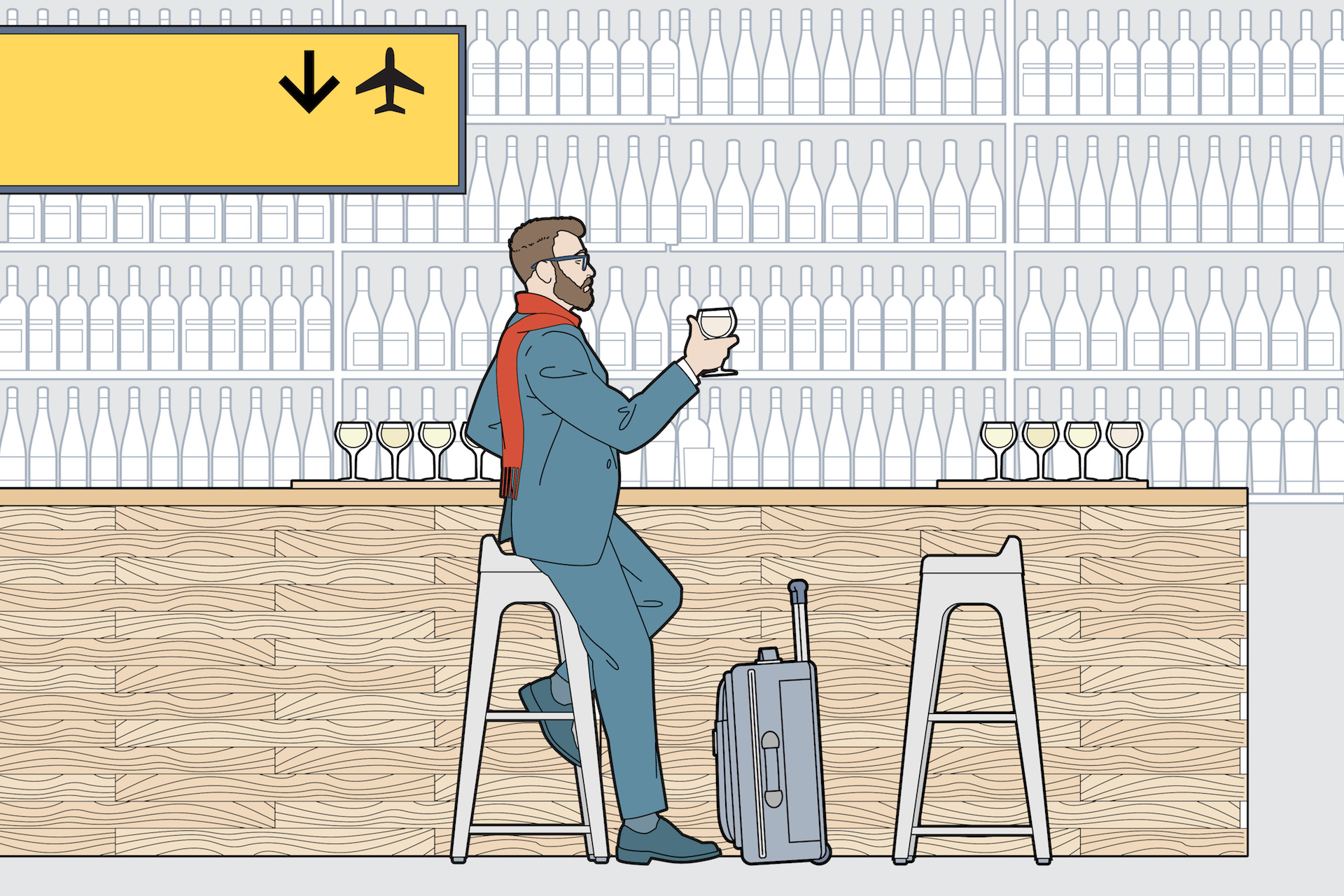 Airport Tasting Rooms Are On The Rise photo