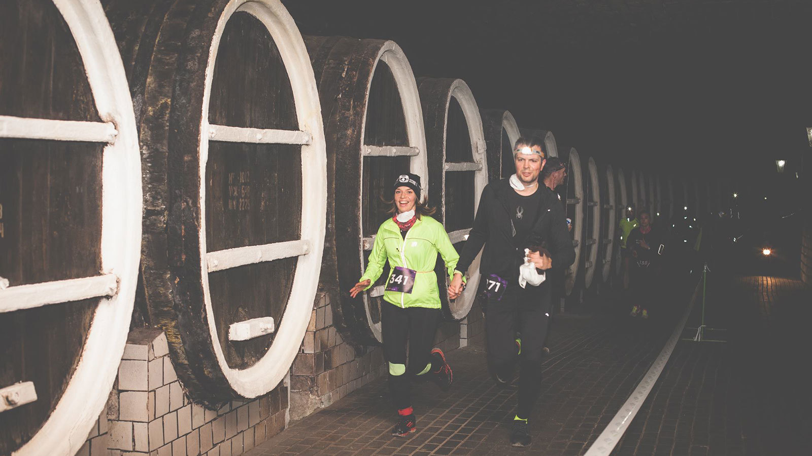 The 10k Race Through The World's Largest Wine Cellar photo