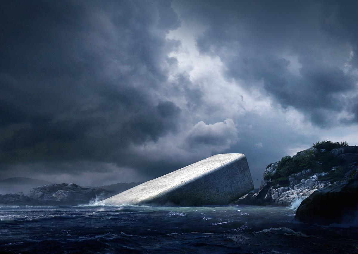 Southern Norway will be home to the world's largest underwater restaurant photo