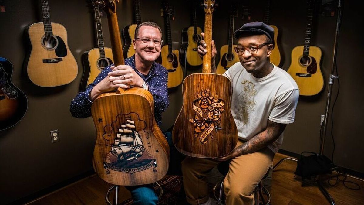 Anaheim?s Annual Namm Show Features Guitar Designs Inspired By Rum And Tattoos photo