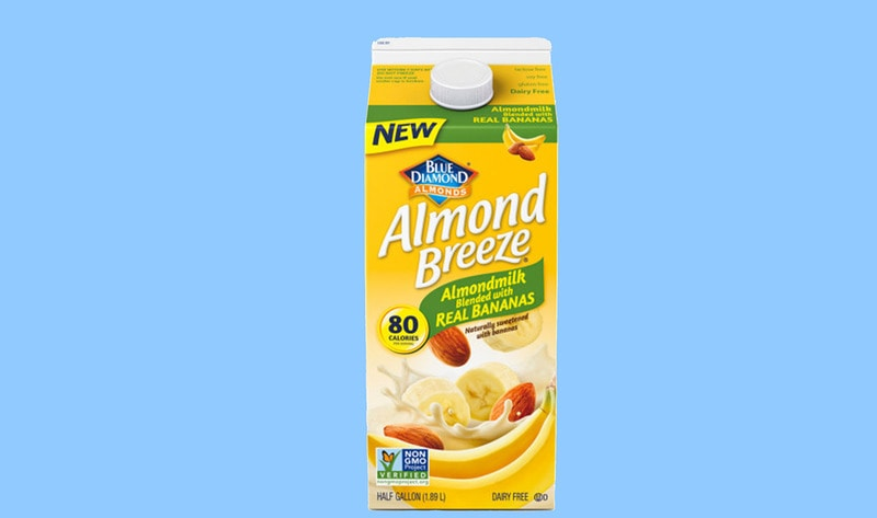 Almond Breeze Debuts Vegan Banana Milk photo
