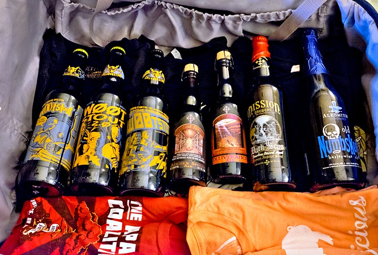 The best way to pack beer for air travel photo