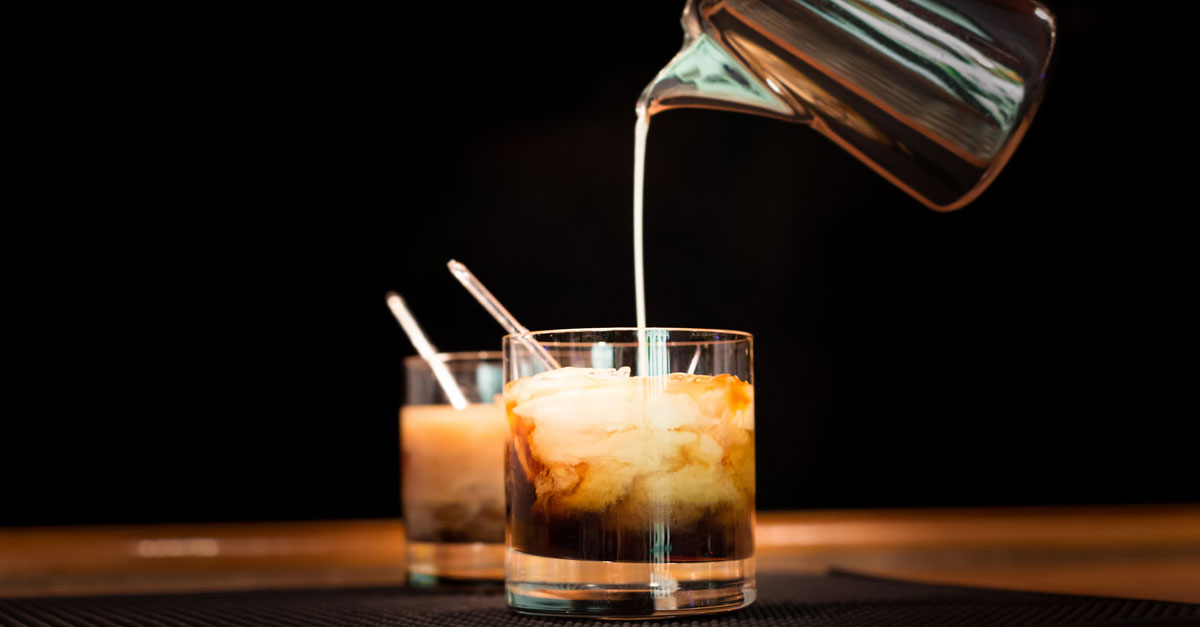 bestprac whiterussian social CBD And Drink Pairings That Perfectly Compliment Self Quarantine