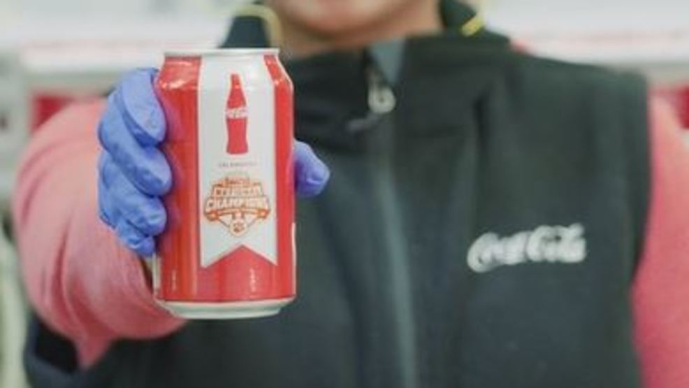 Coca-cola Clemson 'national Championship' Cans Headed To Sc Stores photo