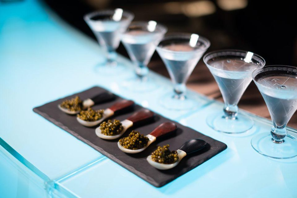 caviar vodka bangkok The Worlds Highest Vodka, Gin And Caviar Bar Opens In Bangkok