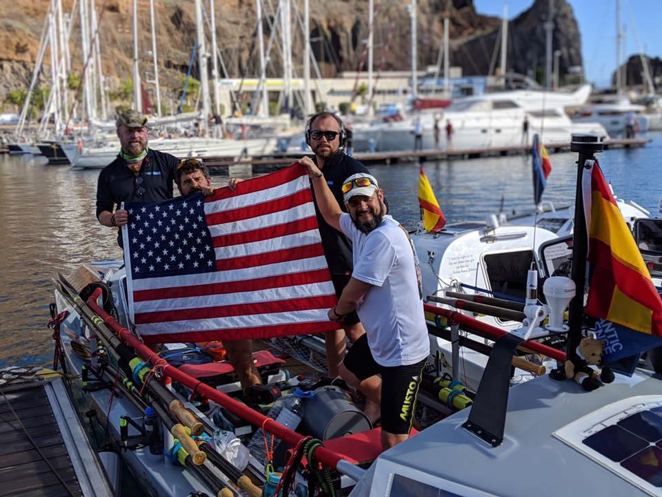 Colorado-based Rowing Team Now Has Less Than 1,000 Nautical Miles Togo photo