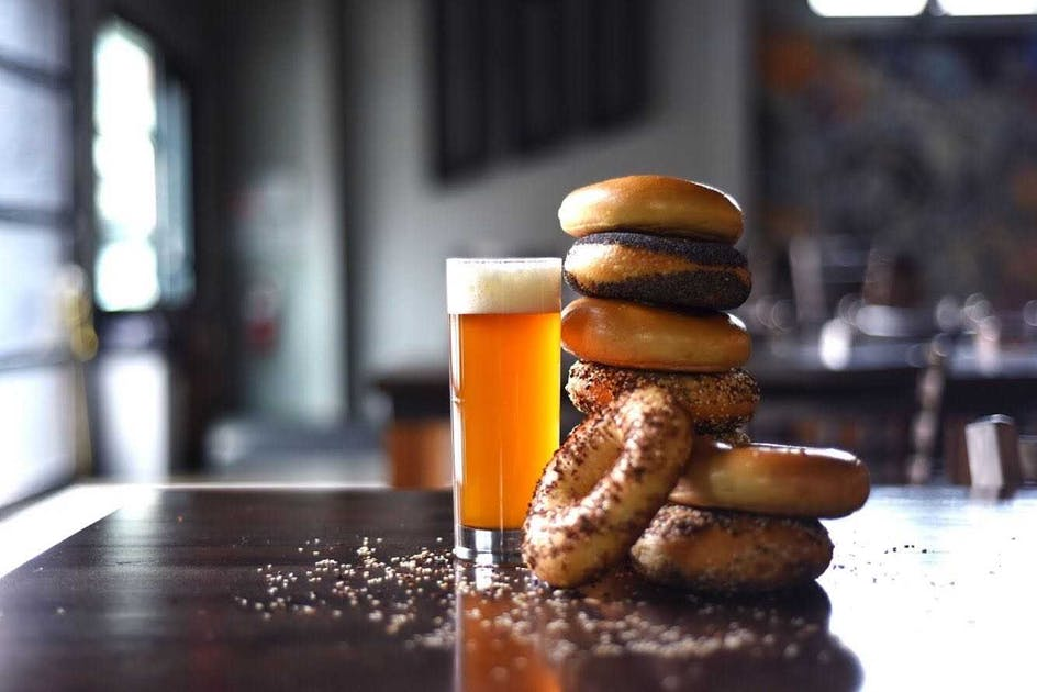 Modist + Rise Collab Combines Two Of The World's Best Things: Bagels And Beer photo