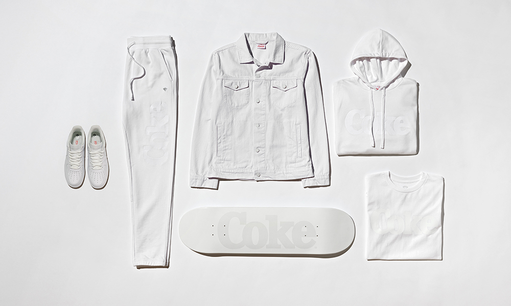 "Diamond Supply Co. X Coca-cola ""coke White"" Capsule Out Tomorrow photo"