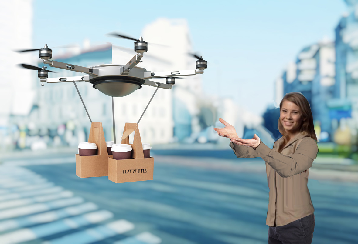 In Australia, The Coffee Drones We're Looking For Are Here photo