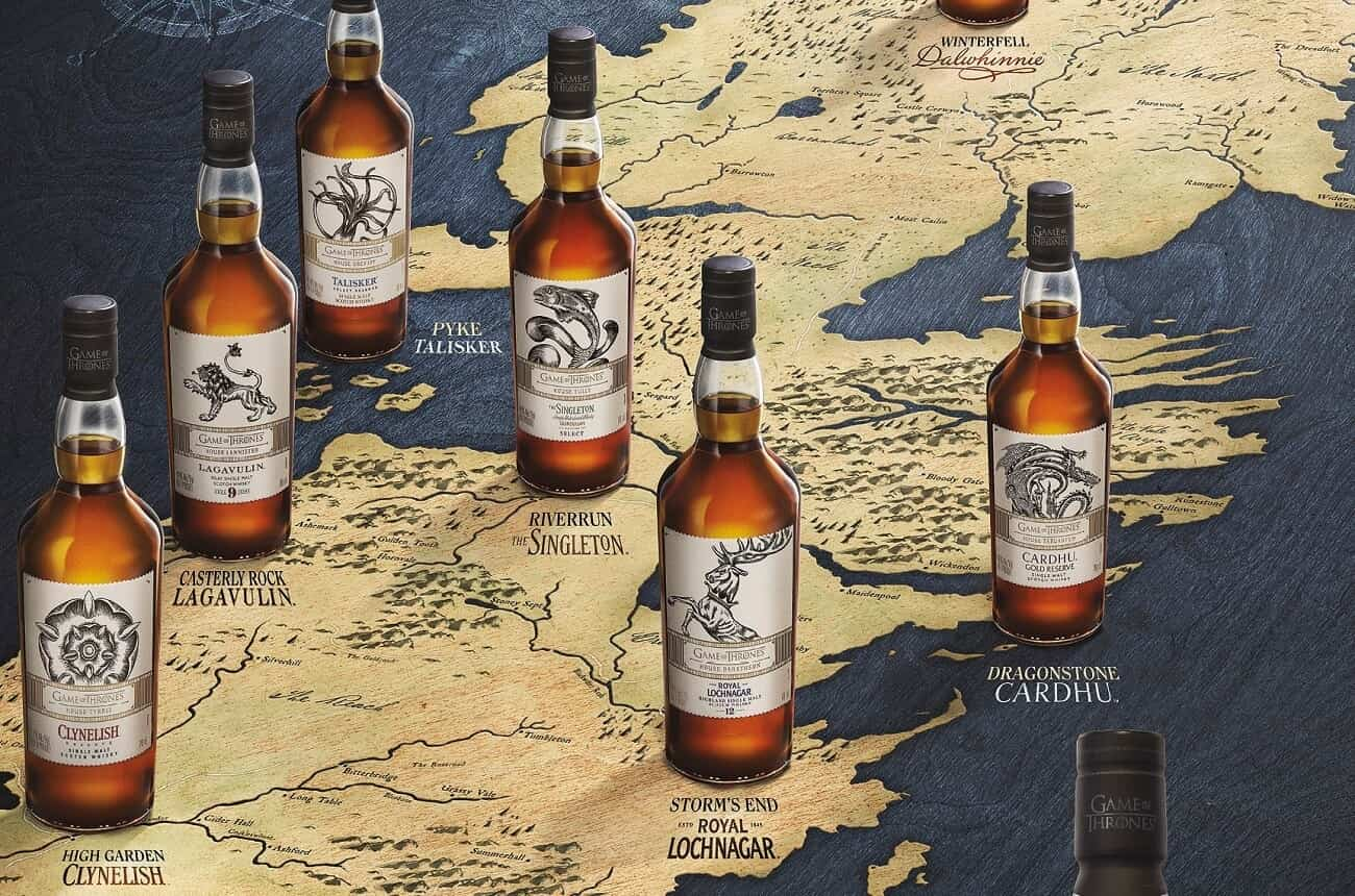 Game Of Thrones Scotch Whiskies Launched photo