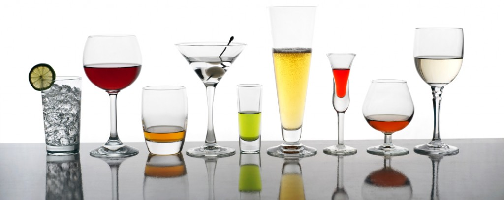 glassware 1764229 22 Quintessential Items Every Home Bar Should Have