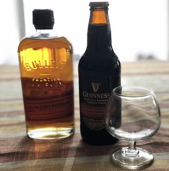 Beer Review: Guinness Stout Aged In Bulleit Bourbon Barrels photo