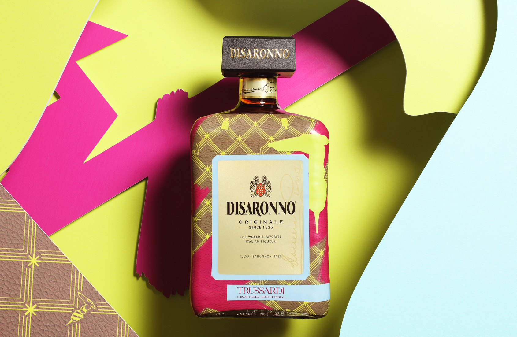 TRUSSARDI Dresses DISARONNO with Limited Edition Bottle photo